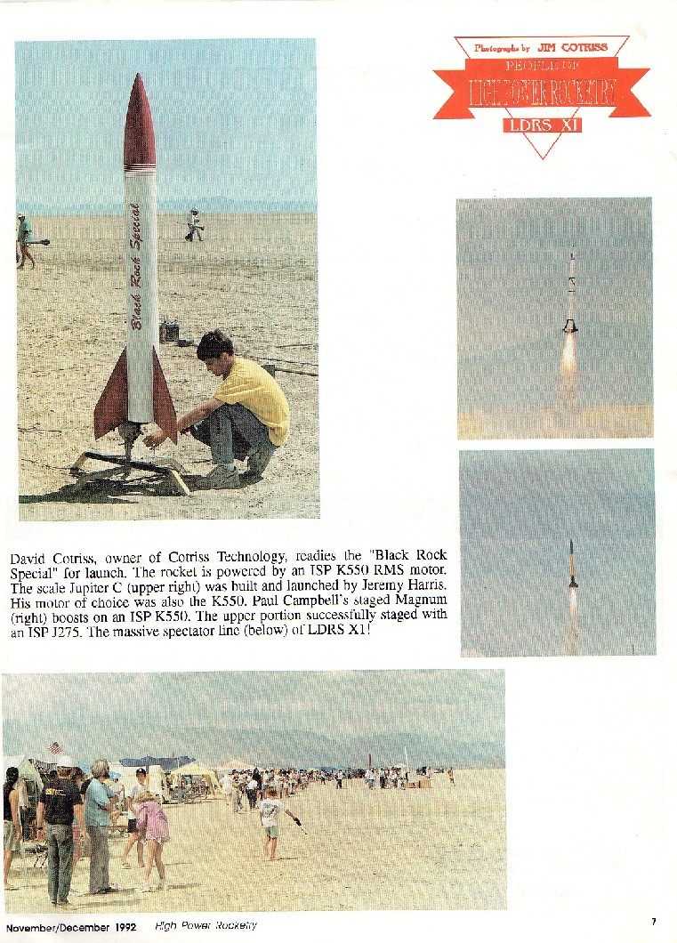 Rockets Timers For Rocket Ejection This Made It Into Tripoli Rocketry Magazine In 1991 At Ldrs 10